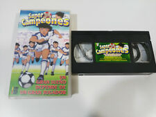 Oliver Benji super champions a great dream-vhs tape & tape spanish