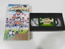 OLIVER BENJI SUPER CAMPEONES UN GRAN SUEÑO - VHS CINTA TAPE CASTELLANO &