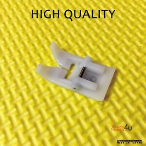 Sewing Machine Snap On TEFLON FOOT Fits New Singer, Brother, Janome, Toyota +