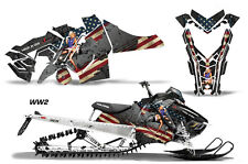 AMR Racing Sled Wrap Polaris Axys SKS Snowmobile Graphics Sticker Kit 2015+ WW2