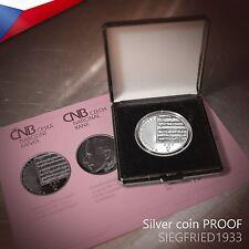 Czech Silver Coin PROOF (2010) - Composer Gustav Mahler - 200 CZK