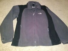 THE NORTH FACE JACKET FLEECE L MEN HIKING CAMPING SPORT GRAY
