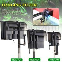 Hang externe sur filtre Skimmer Surface cascade Mini Aquarium Fish Tank