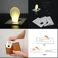 Portable Pocket LED Card Light Lamp Gifts Ultra-Thin Small Night Light Cute
