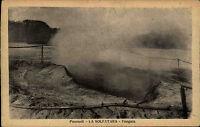 Pozzuoli Italien Italia Kampanien AK ~1920/30 La Solfatara Fangaia Heiße Quelle
