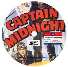 CAPTAIN MIDNIGHT (134 SHOWS) OTR MP3 CD