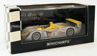 Minichamps 1/43 Scale 400 021302 - Infineon Audi R8 Le Mans 24hr 2002