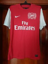 7ccba8c7a4a6c Arsenal London 2011 - 2012 home football shirt jersey Nike size L Large