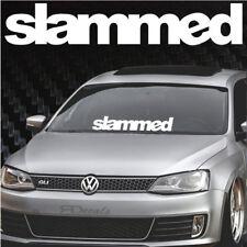 "Slammed Windshield Banner Decal / sticker 5x28"" tuner boost jdm euro funny jdm"