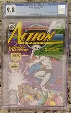 CGC 9.8 DC Comics ACTION COMICS #596 (1/88) White Pages SPECTRE Appearance