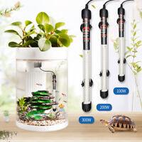 100/200/300W Aquarium Fish Tank Water Temperature Heater Adjustable Thermostat
