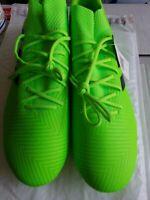 Adidas Nemeziz Messi 18.3 FG size 13 Mens Soccer Cleats New Solar Green DB2113