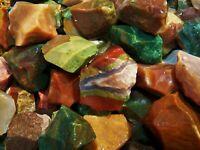 3000 Carat Lots of Fancy Jasper Rough - Plus a FREE Faceted Gemstone