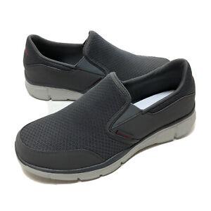 Skechers Equalizer Persistent Memory Foam Loafer Moc Men's 10 Charcoal 51361 New