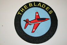 The Blades Embroidered Iron on Patch With Heat Seal Backing P026