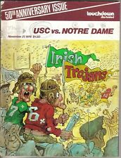 1976 (Nov. 27) College Football program Notre Dame Irish @ USC Trojans ~ Fair