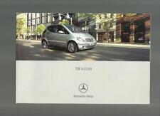 Mercedes Benz Clase A-un 170cdi a 140, 160, un 190, A210 evo.sale folleto 2002