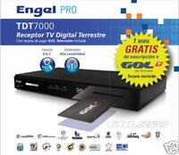 RECEPTOR TDT DESCODIFICADOR ENGEL RT7000 TARJETA GOL TV BD3188