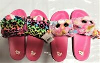 1,2 PACK ty beanie boos girls sandals unicorn leopard