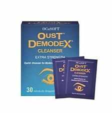 Oust Demodex Cleanser Foam Pads Compliance Kit tea tree oil eyelashes eyelids