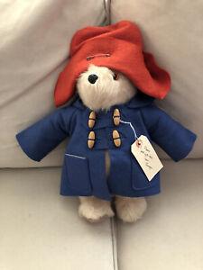 "Paddington Bear made in England Gabrielle Designs 14"" As Is see description"