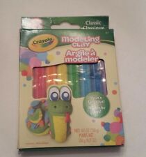 Crayola Modeling Clay 8 colors Non toxic sticks Classic colors won't dry out!