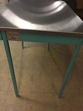 "NEW HAMILTON Folding Leg Table Stainless Steel Top Heavy Duty 950S937 45x30x36"""