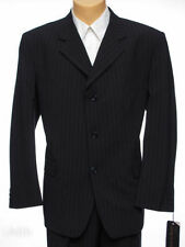 Three Button Single Pinstripe Suits & Tailoring for Men