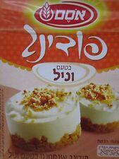Osem Instant Vanilla Pudding Food Desserts Israel Kosher 2.8oz.