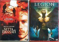 Serata 2x1 - LA SETTA DEI DANNATI (2003) + LEGION (2010) 2 DVD EX NOLEGGIO