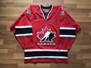 CANADA NATIONAL TEAM 2002 ICE HOCKEY SHIRT JERSEY NIKE