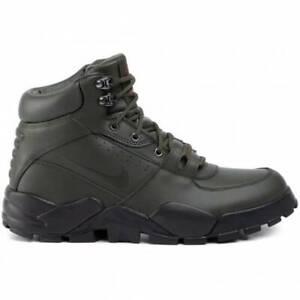 Nike Rhyodomo BQ5239-300 Sequoia Dark Olive Black Men's Leather Boot NEW IN BOX