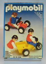 Playmobil 3596 Kinder mit Go Kart & Dreirad in O-Box #72