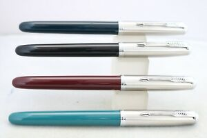 Jinhao No 86 Extra Fine Fountain Pen, 4 Different Colours, UK Seller
