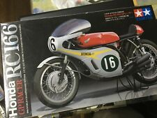 1/12 Tamiya 1966 Honda GP Racer RC166 Motorcycle Model Kit NIB