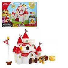gioco giocattolo SUPER MARIO BROS playset castello regno dei funghi per bambini