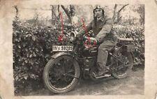 21623/ Originalfoto 9x13cm, Motorrad Zündapp, Kennung, ca. 1925