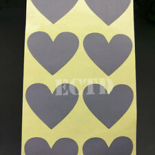 150pcs Heart SCRATCH OFF STICKERS LABELS PARTY FAVORS GAMES - FREE SHIPPING