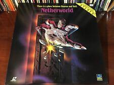 Laserdisc NETHERWORLD 1991 David Schmoeller Full Moon Entertainment Horror LD