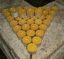 80 Extra large  100% Beeswax Tealights Candles Aussie made July Special $0.90 ea