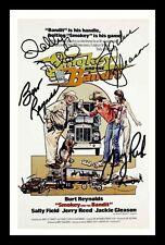 SMOKEY AND THE BANDIT AUTOGRAPHED SIGNED & FRAMED PP POSTER PHOTO