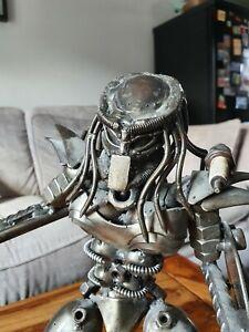Predator Metal Art Figure,Scrap Metal art Sculpture
