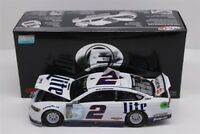 BRAD KESELOWSKI #2 2018 MILLER LITE ELITE 1/24 SCALE NEW IN STOCK FREE SHIPPING