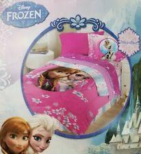 4 pc Disney Frozen Full Comforter, Shams & Bedskirt Set NIP