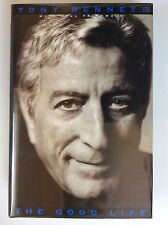 TONY BENNET autograph signed 1st edition HB book The Good Life