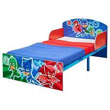 PJ MASKS JUNIOR TODDLER BED CHILDRENS BEDROOM FURNITURE COLOURFUL