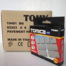 Tomy Tomica Trackmaster pavemement Pack Extension Wholesale Lot-Nouvelle Boîte de 8