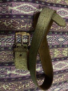 Levis 501 Leather Belt M