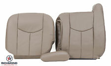 2003 2004 2005 2006 Chevy Avalanche-Driver Side Complete Leather Seat Covers TAN