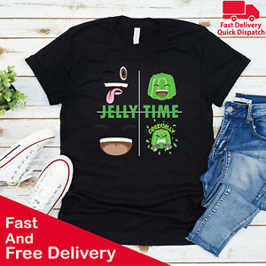 Crazy Jelly Mens Kids Tshirt Youtuber Merch Gamer Player Jellytime Funny Tee Top
